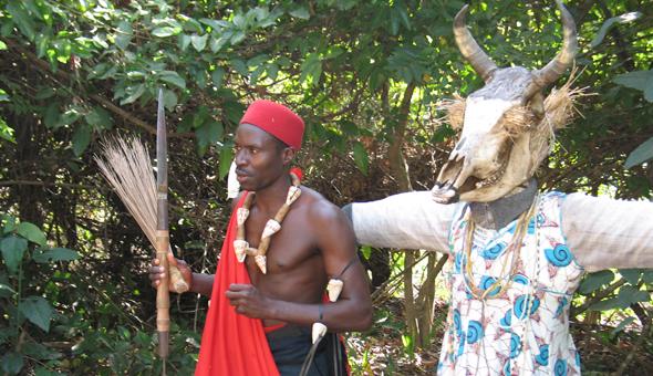 Les rituels du marabout